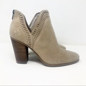 Vince Camuto Shoes - Vince Camuto Fileana Cutout Suede Bootie 10